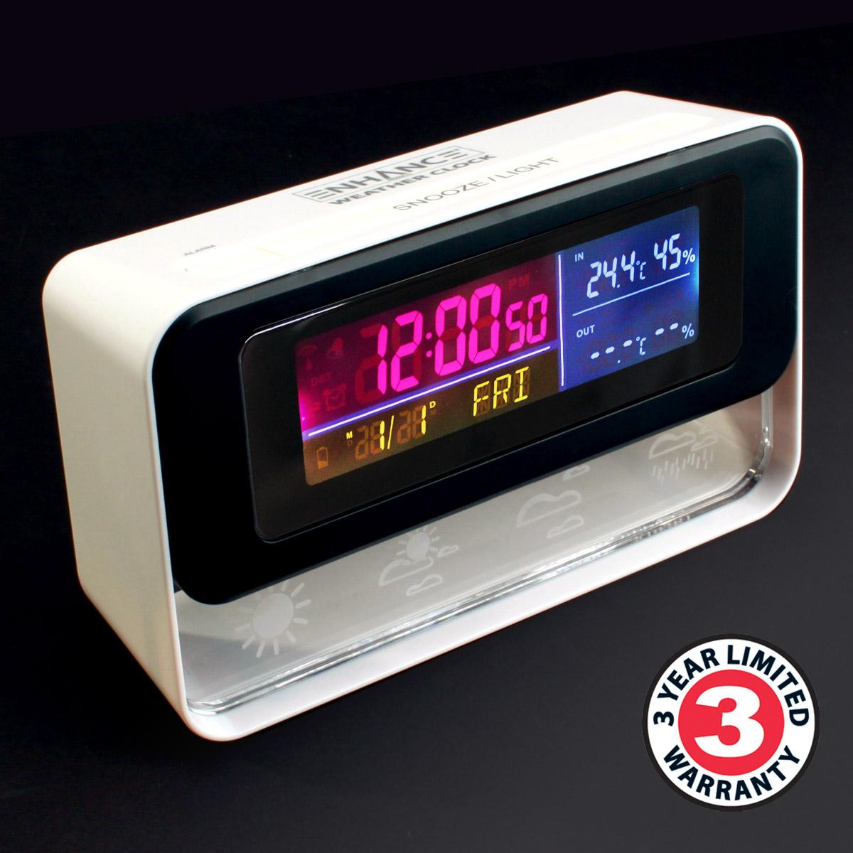 Enhance Weather Clock Enwtrck100wtew Accessory Power